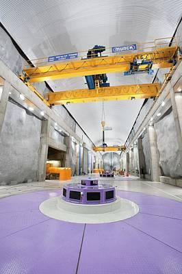 Fljotsdalur Hydro Power Station Art Print