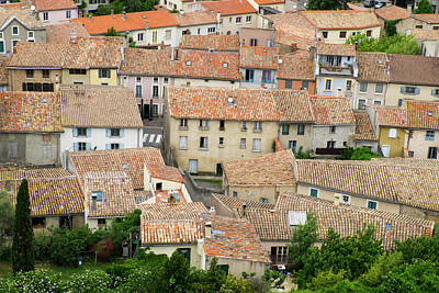 Languedoc Photograph - France, Languedoc-roussillon, Ancient by Emily Wilson