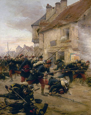 Franco-prussian War Painting - Franco-prussian War, 1870 by Granger