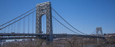 Photograph - George Washington Bridge by Theodore Jones