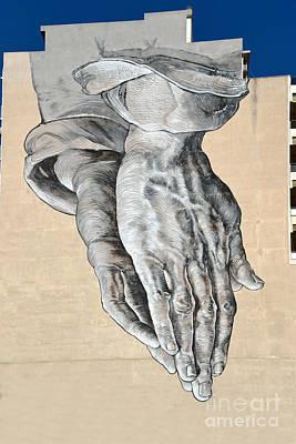 Paint Photograph - Graffiti On A Wall by George Atsametakis