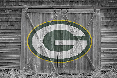 Photograph - Green Bay Packers by Joe Hamilton