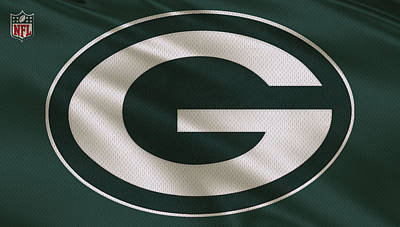 Green Bay Packers Uniform Art Print by Joe Hamilton