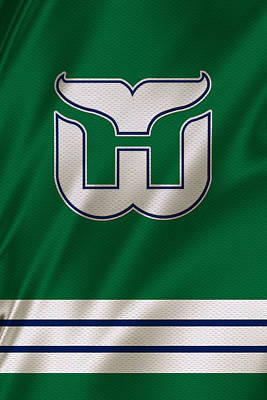 Hartford Whalers Art Print by Joe Hamilton