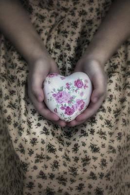Heart Art Print by Joana Kruse