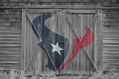 Photograph - Houston Texans by Joe Hamilton