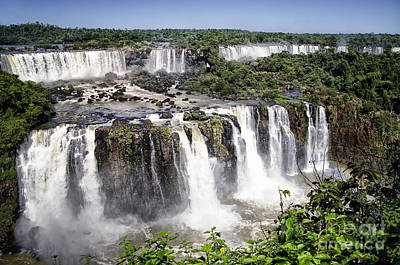 Iguazu Falls - South America Art Print