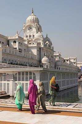 India, Punjab, Amritsar Art Print by Alida Latham