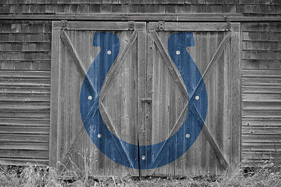 Photograph - Indianapolis Colts by Joe Hamilton