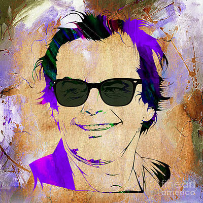 Jack Nicholson Collection Art Print by Marvin Blaine