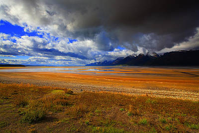 Photograph - Jackson And Salt Lake Usa by Richard Wiggins