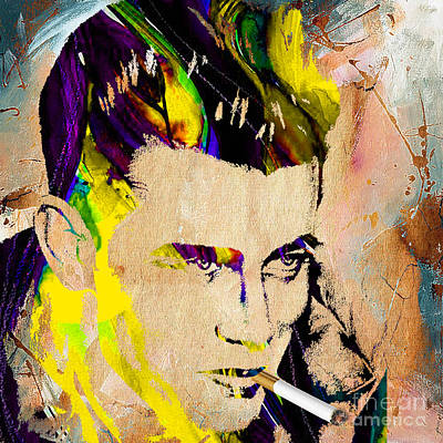 Actors Mixed Media - James Dean Collection by Marvin Blaine