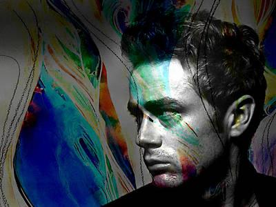 James Dean Mixed Media - James Dean by Marvin Blaine