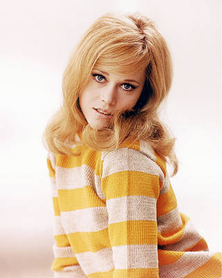 Fonda Photograph - Jane Fonda by Silver Screen