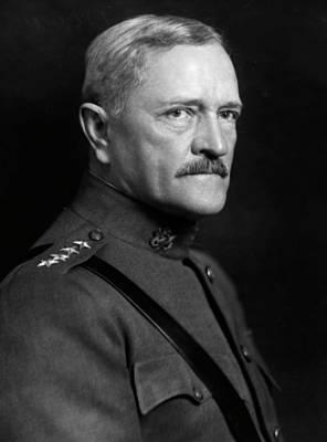 Pershing Photograph - John Joseph Pershing (1860-1948) by Granger