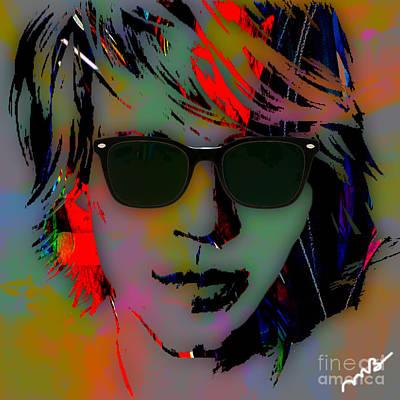 Music Mixed Media - Jon Bon Jovi Collection by Marvin Blaine