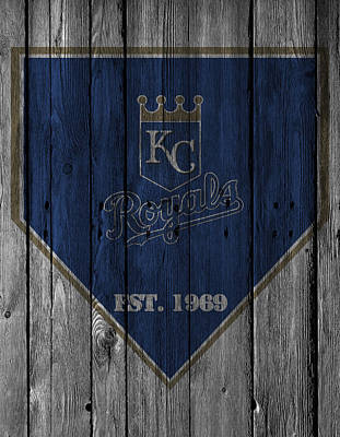 Glove Photograph - Kansas City Royals by Joe Hamilton