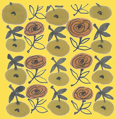Garden Drawing - Kirsty Steward, A Botanical Artist Of Flowers by Artokoloro