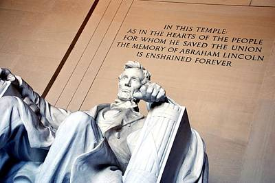 Lincoln Memorial Photograph - Lincoln Memorial by Kenny Glover