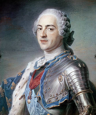 Louis Xv Painting - Louis Xv (1710-1774) by Granger