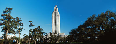 Baton Rouge Photograph - Low Angle View Of A Government by Panoramic Images