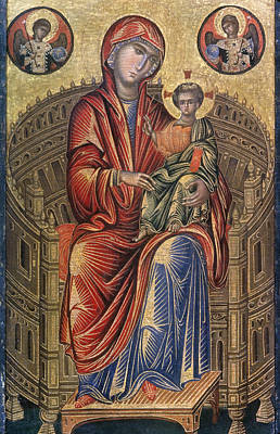 Madonna And Child Art Print by Granger