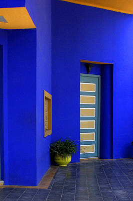 Majorelle Garden Marrakesh Morocco Art Print by PIXELS  XPOSED Ralph A Ledergerber Photography