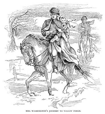 Martha Washington Art Print by Granger