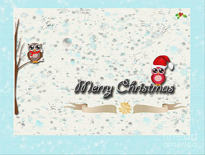 Photograph - Christmas Card 29 by Nina Ficur Feenan