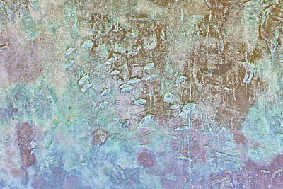 Metallic Background Art Print by Tom Gowanlock
