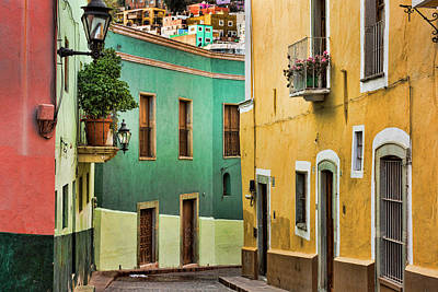 Grate Photograph - Mexico, Guanajuato by Jaynes Gallery