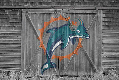 Photograph - Miami Dolphins by Joe Hamilton