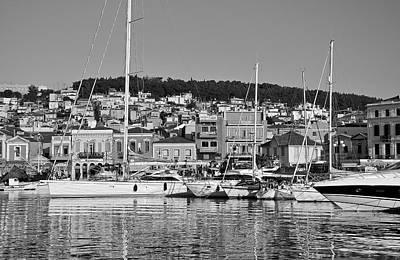 Traditional Photograph - Mytilini Port by George Atsametakis