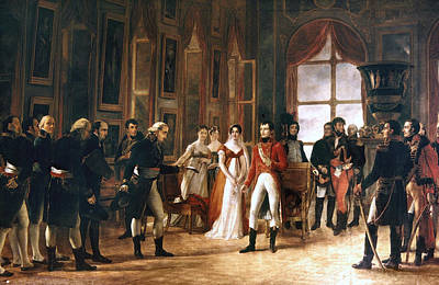 First Couple Painting - Napoleon Bonaparte (1769-1821) by Granger