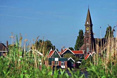 Zaanse Schans Photograph - Netherlands, North Holland, Zaanstad by Miva Stock