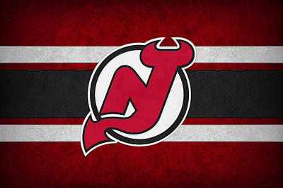 Skate Photograph - New Jersey Devils by Joe Hamilton