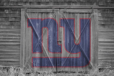 Photograph - New York Giants by Joe Hamilton