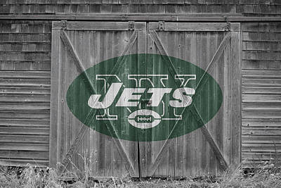Photograph - New York Jets by Joe Hamilton
