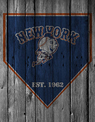 Barn Photograph - New York Mets by Joe Hamilton