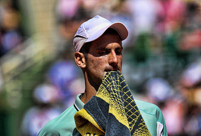 Novak Djokovic Print by Srdjan Petrovic