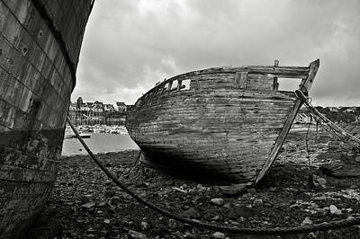 Brittany Photograph - Old Abandoned Ships by RicardMN Photography