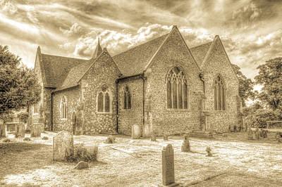 Photograph - Orsett Church Essex England by David Pyatt