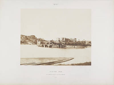 Archeological Photograph - Photograph Of The Egyptian Landscape by British Library