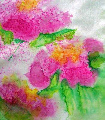 Painting - Pink Peonies by Shan Ungar