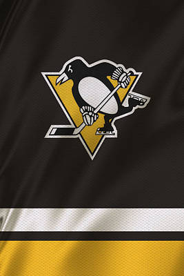 Pittsburgh Penguins Art Print by Joe Hamilton