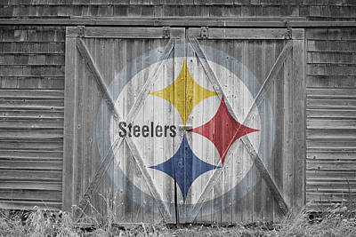Barn Photograph - Pittsburgh Steelers by Joe Hamilton
