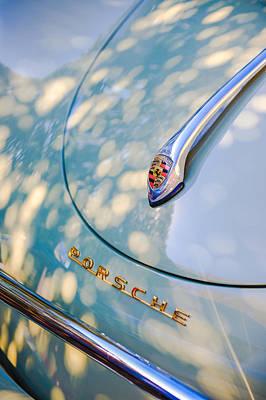 Porsche 1600 Super Hood Emblem Art Print