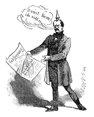 Prince Otto Von Bismarck  Art Print by Granger