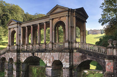 Garden Bridge Photograph - Prior Park by Joana Kruse