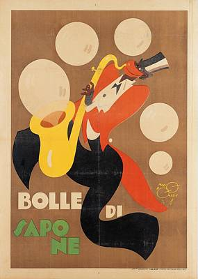 Saxophone Photograph - Private Collection. Advertising Poster by Everett